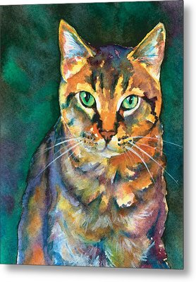 Metal Print featuring the painting Kodi by Christy Freeman