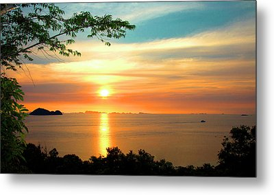 Koh Phangan Metal Print by Mark Ashkenazi