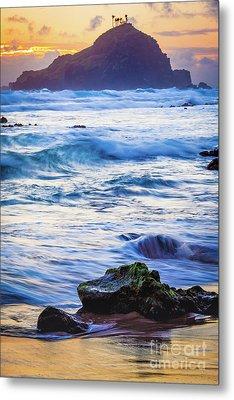 Koki Beach Sunrise #4 Metal Print
