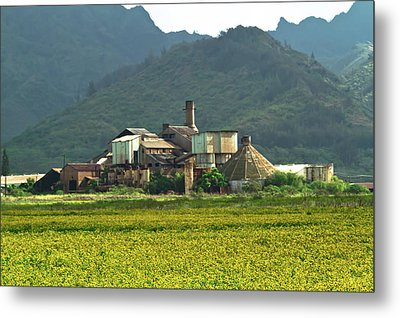 Koloa Sugar Mill Metal Print by Roger Mullenhour