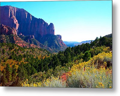 Kolob Canyon Metal Print