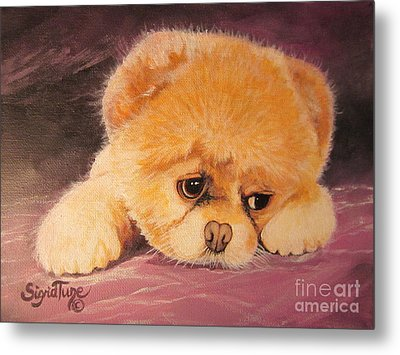 Koty The Puppy Metal Print