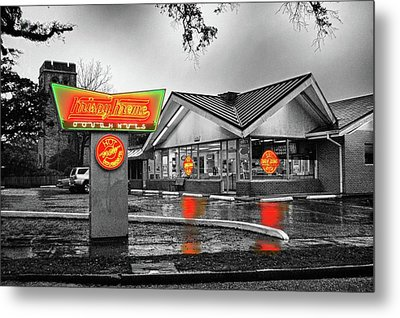 Krispy Kreme Metal Print by Michael Thomas