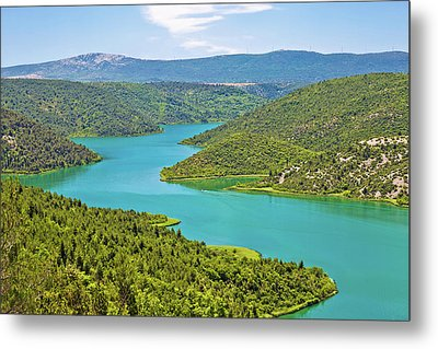 Krka River National Park View Metal Print