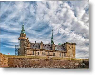 Metal Print featuring the photograph Kronborg Castle In Denmark by Antony McAulay