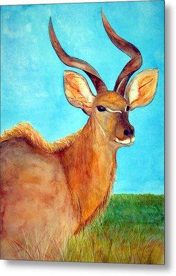 Kudu Metal Print by Patricia Beebe
