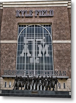 Kyle Field - Home Of The 12th Man Metal Print by Stephen Stookey
