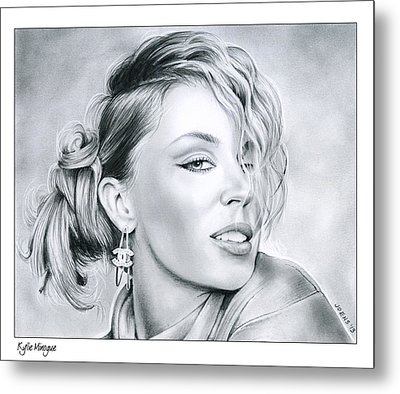 Kylie Minogue Metal Print