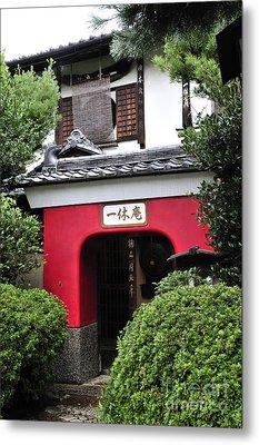 Kyoto Doorway Metal Print by Andy Smy