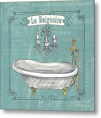 La Baignoire Metal Print by Debbie DeWitt