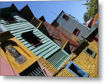 Metal Print featuring the photograph La Boca by Wilko Van de Kamp