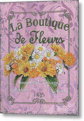 La Botanique 1 Metal Print by Debbie DeWitt