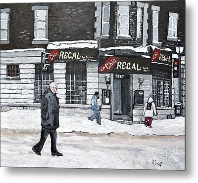La Chic Regal Pointe St. Charles Metal Print by Reb Frost