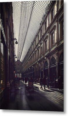 Les Galeries Brussels Metal Print by Carol Japp