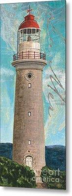La Mer Lighthouse Metal Print by Debbie DeWitt