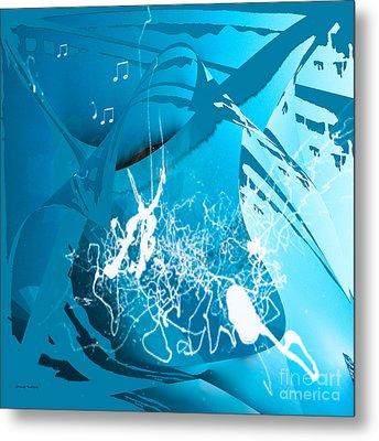 La Musica Metal Print by Gerlinde Keating - Galleria GK Keating Associates Inc
