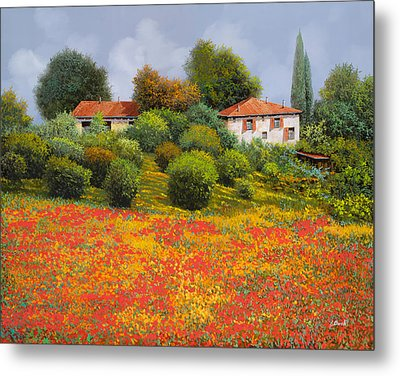 La Nuova Estate Metal Print by Guido Borelli