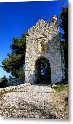 La Poterne In Allauch Metal Print by Olivier Le Queinec