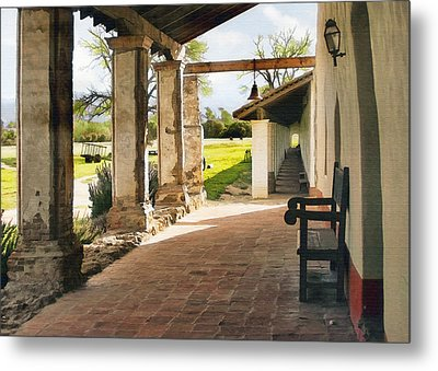 La Purisima Long View Metal Print