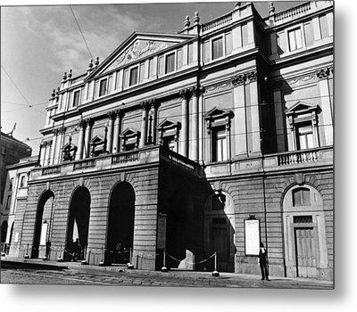 La Scala, Opera House, In Milan, Italy Metal Print by Everett