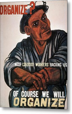 Labor: Poster, 1930s Metal Print by Granger