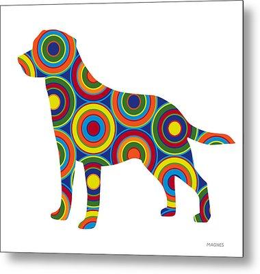 Labrador Retriever Metal Print by Ron Magnes