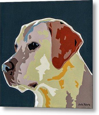 Labrador Metal Print by Slade Roberts