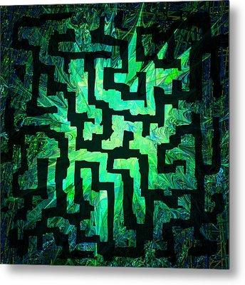 Labyrinth Metal Print by Rachel Christine Nowicki