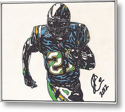 Ladainian Tomlinson 1 Metal Print by Jeremiah Colley