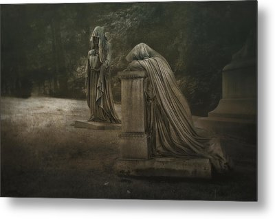 Ladies Of Eternal Sorrow Metal Print by Tom Mc Nemar