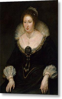 Lady Alethea Talbot, Countess Of Arundel Metal Print by Peter Paul Rubens
