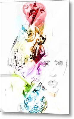 Lady Gaga Metal Print by The DigArtisT