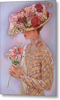 Lady Jessica Metal Print by Sue Halstenberg