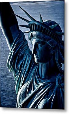 Lady Liberty Metal Print by Kevin  Sherf