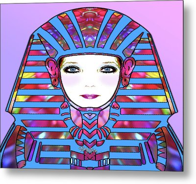 Metal Print featuring the photograph Lady Tut #191 by Barbara Tristan