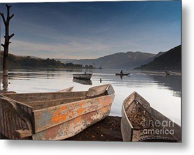 Lago Atitlan Metal Print