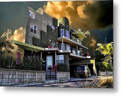 Lagoon House Metal Print by Bob Winberry