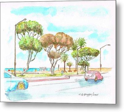 Laguna Beach Waterfront - California Metal Print by Carlos G Groppa