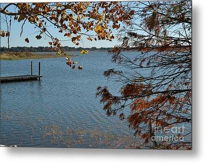 Metal Print featuring the photograph Lake Bonny Autumn by Carol  Bradley