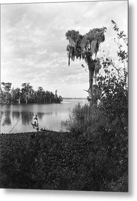 Lake Charles, Louisiana Metal Print by Underwood Archives