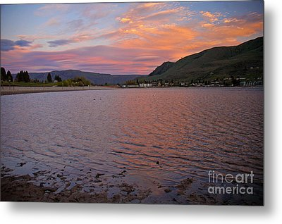 Lake Chelan Sunset Metal Print