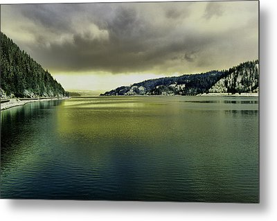 Metal Print featuring the photograph Lake Coeur D' Alene by Jeff Swan
