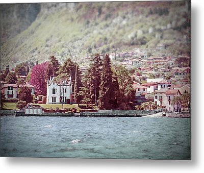 Lake Como Vista Metal Print by Brooke T Ryan