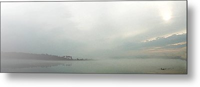 Metal Print featuring the photograph Lake Conroe Watercolor by Ellen O'Reilly