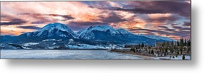 Lake Dillon Metal Print by Sebastian Musial