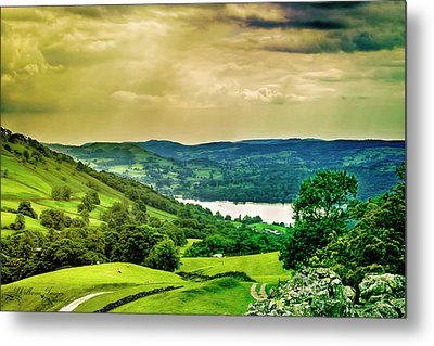 Metal Print featuring the photograph Lake District 6 by Wallaroo Images