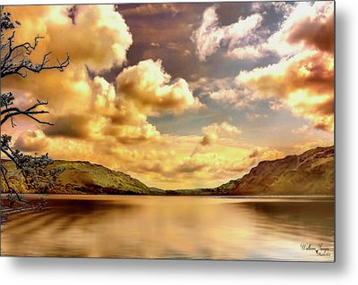 Metal Print featuring the photograph Lake District Uk by Wallaroo Images