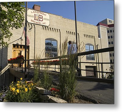 Metal Print featuring the photograph Lake Front Brewery by Peter Skiba