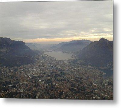 Lake Garlate Lecco Italy Metal Print