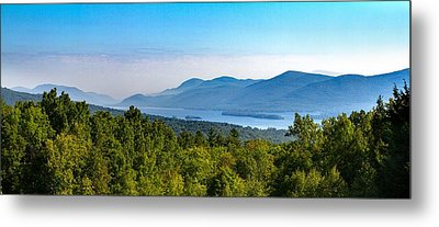 Lake George, Ny And The Adirondack Mountains Metal Print
